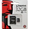 Cartão de Memória 32gb Kingston Sdc4/32gb com Adaptador Sd