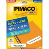 Etiqueta Laserjet Carta 6281 25,4x101,6 Pimaco com 25 Folhas