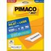 Etiqueta Laserjet Carta 6280 25,4x66,7 Pimaco com 25 Folhas