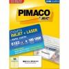 Etiqueta Laserjet Carta 6183 50,8x101,6 Pimaco com 100 Folhas