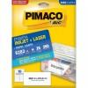 Etiqueta Laserjet Carta 6283 50,8x101,6 Pimaco com 25 Folhas