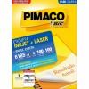 Etiqueta Laserjet Carta 6185 279,4x215,9 Pimaco com 100 Folhas