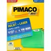 Etiqueta Laserjet Carta 6187 12,7x44,45 Pimaco com 100 Folhas