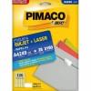 Etiqueta Laserjet A4 A4249 15,0x26,0 Pimaco com 25 Folhas
