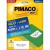 Etiqueta Laserjet A4 A4250 55,8x99,0 Pimaco com 25 Folhas