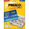 Etiqueta Laserjet A4 A4251 21,2x38,2 Pimaco com 25 Folhas
