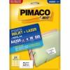 Etiqueta Laserjet A4 A4260 38,1x63,5 Pimaco com 25 Folhas