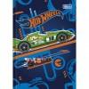 Caderno Brochura Cd Top 1/4 Hot Wheels - 48 Folhas Pack C/15