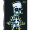 Caderno Espiral Cd Univ 10m The Simpsons- 160 Folhas