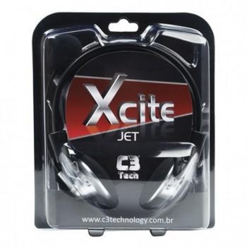 Fone com Microfone C3tech Xcite Jet Mi-2330rs�