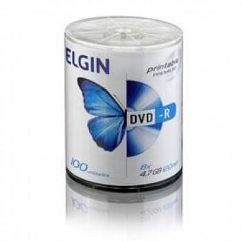 Dvd-r Elgin 4.7gb C/ 100 Printable