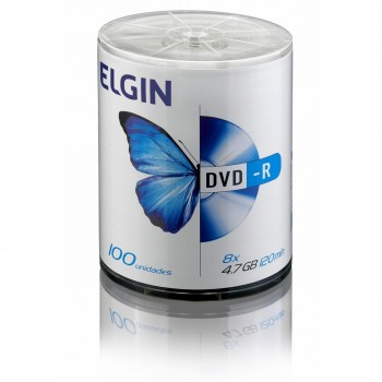 Dvd-r Elgin 4.7gb C/ 100