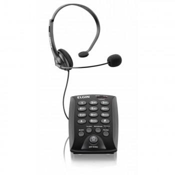 Telefone Elgin C/ Headset Ajust�vel Hst-6000