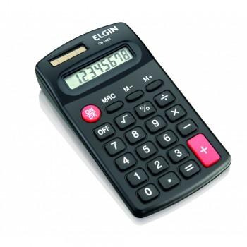 Calculadora de Bolso Elgin Preta 8 D�gitos Cb1483