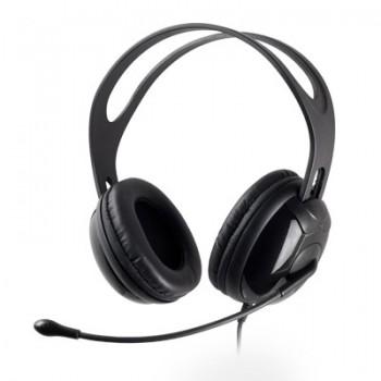 Fone com Microfone Mymax Phn-ht8000/Bk Preto