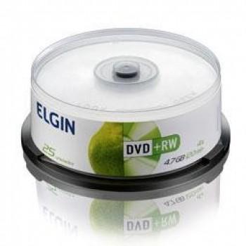 Dvd-rw Elgin 4.7gb C/ 25 Unidades