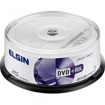 Dvd+r Elgin 8,5gb C/ 25 Unidades