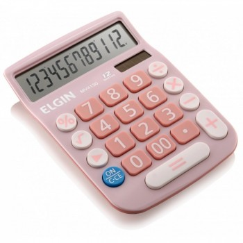 Calculadora de Mesa Elgin 12 D�gitos Mv4130 Rosa