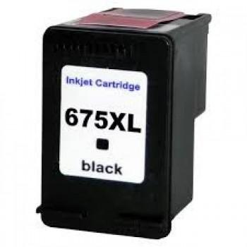 Cart. Compat�vel Hp 675 Preto Hc-i675
