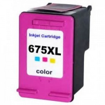 Cartucho Compat�vel Hp 675 Color Hc-j675