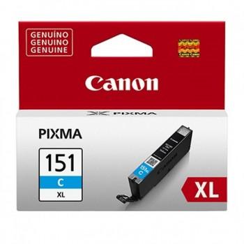 Cartucho Canon 151xl Cli-151 Xl-c Azul Pixma Series