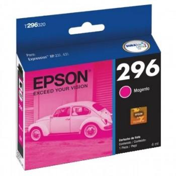 Cartucho Epson 296 Magenta T296320