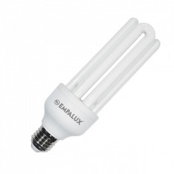 Lampada Fluorescente Comp Empalux 127v 3u 20w 6400k T4 E27