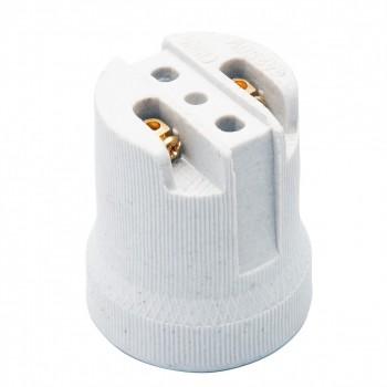 Bocal Porcelana P/ Spot E27 C/ Al�a