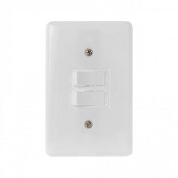 Interruptor 2 Tc Paralela C/ Pl 4x2 Stylus Ilumi