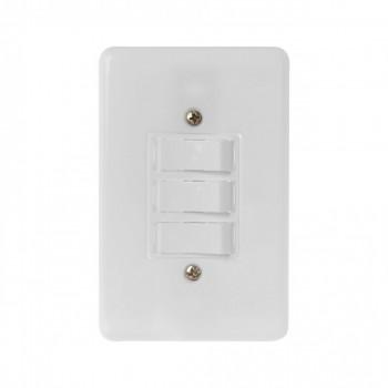 Interruptor 3 Tc Simples C/ Pl 4x2 Stylus Ilumi