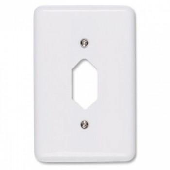 Placa 4x2 P/ 1 Tomada Fixa de Embutir Stylus Ilumi