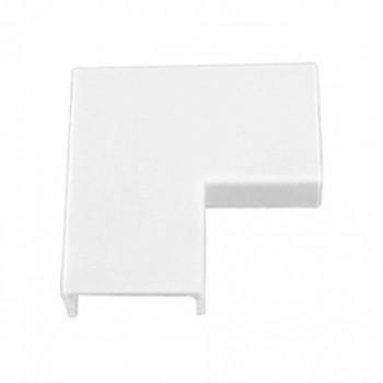 Conex�o P/ Canaleta 20x10mm Cotovelo 90� Branco C/ 20p�s