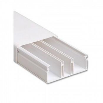 Canaleta 50x20x2000mm C/ Divis�ria Branca Ilumi