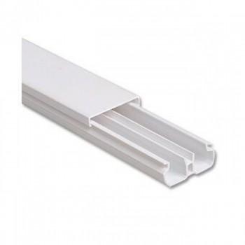 Canaleta 20x10x2000mm C/ Divis�ria Branca Ilumi