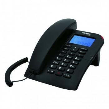 Telefone Intelbr�s com Fio Preto Tc60 C/ Identificador
