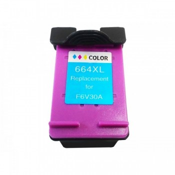 Cartucho Compat�vel Hp 664 Color Hc-m664xl