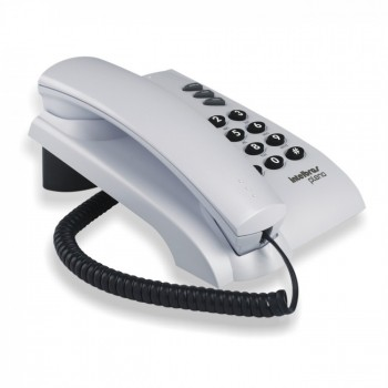Telefone Intelbras Pleno Cinza Artico com Chave