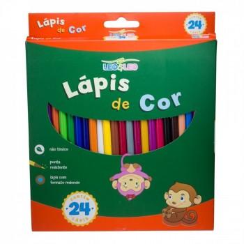L�pis de Cor Leo&leo 24 Cores Cod 4449