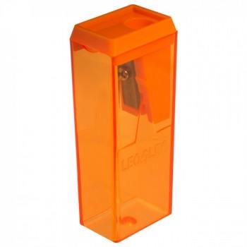 Apontador Pl�stico Bloco C/ Dep�sito Leo&leo Caixa com 24 Unidades Cores Sortidas