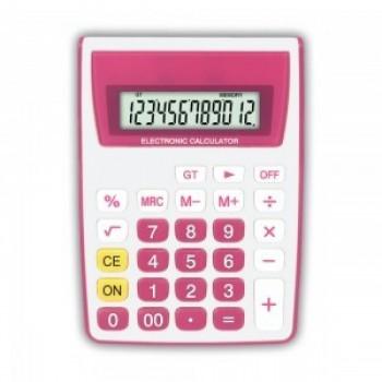 Calculadora de Mesa Zeta 12 D�gitos Zt886pk Rosa