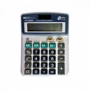 Calculadora de Mesa Hoopson 8 D�gitos Ps-2808a