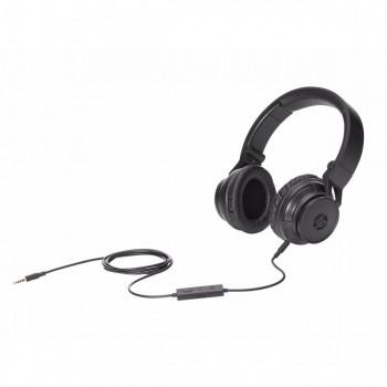 Fone com Microfone Dobravel Hp H3100 Preto