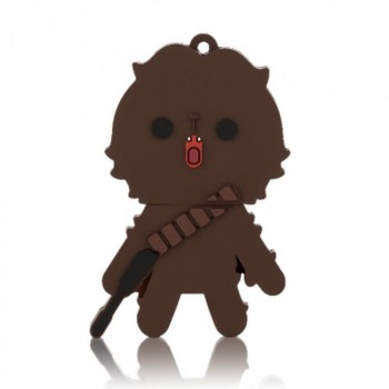 Pen Drive 8gb Multilaser Star Wars Chewbacca Pd041