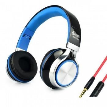 Fone com Microfone Infokit Hm-750mv Preto/Azul