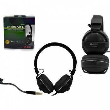 Fone com Microfone Infokit Hm-550mv Preto