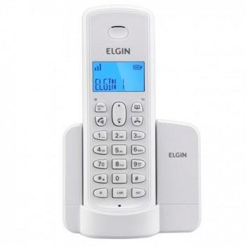 Telefone Elgin Sem Fio C/ Identificador e Viva Voz Branco Tsf8001