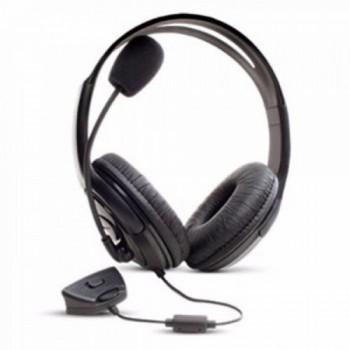 Fone com Microfone para Xbox-360 P1 Knup Kp-324 Preto