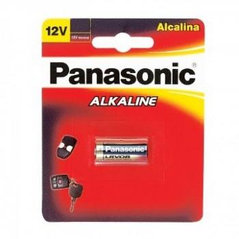 Pilha Alcalina 12v Panasonic Lrv08 Cartela com 1 Pilha