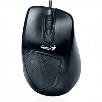 Mouse Usb Genius Dx-150x Ergon�mico Preto