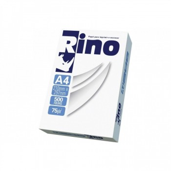 Papel A4 Rino Resma 75grs 210x297 C/ 500 Folhas